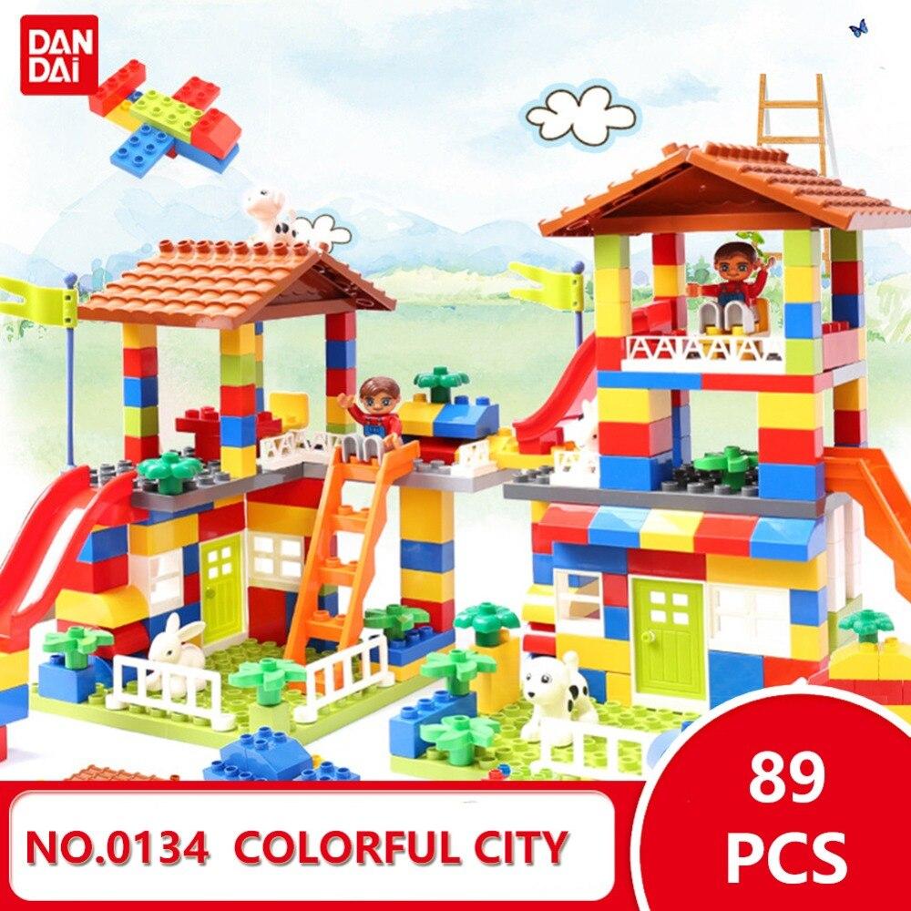 Legoingly Heißer Brticks Bausteine DIY Spielzeug Bunte Stadt Haus Mädchen Schöne Burg Geburtstag geschenk für kinder 0134 GK30