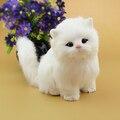 Новый Год Новогодние Игрушки Для Детей Подарок Электронных домашних животных hello kitty Brinquedos Интерактивный Робот Кошка Может Мяу мяу плюшевые игрушки