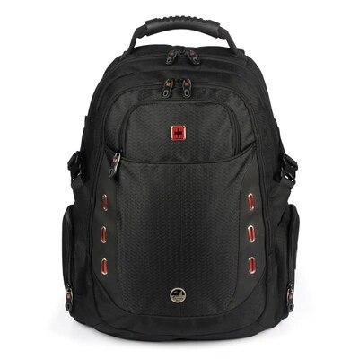 Swisswin Wenger Swissgear Laptop Backpack for 15.6 Computer Backpack with Multi-Pocket For Business Travel Ergonomic School Bag