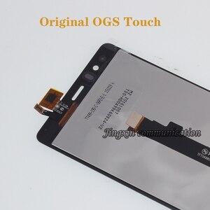 Image 2 - 100% جديد تماما الأصلي ل BQ Aquaris E5 0858 شاشة الكريستال السائل شاشة تعمل باللمس محول رقمي استبدال E5 HD إصلاح أجزاء
