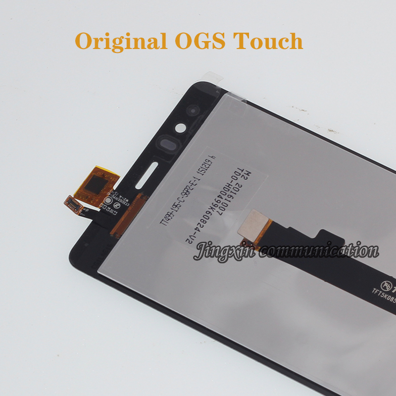 Image 2 - 100% brand new original for BQ Aquaris E5 0858 LCD display + touch screen digital converter replacement E5 HD repair parts-in Mobile Phone LCD Screens from Cellphones & Telecommunications