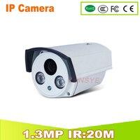 YUNSYE Livraison gratuite 1/3 ''960 P Caméra IP Onvif 2.0 P2P 1280*960 P HD IP Cam HI3518E + OV9712 1.3MP HD Réseau CCTV IP CAMÉRA
