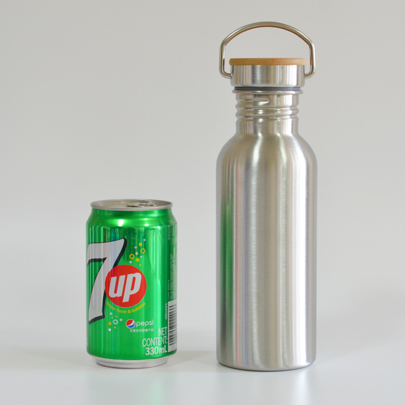 600ml 20oz stainless steel water bottle for travel outdoor yoga
