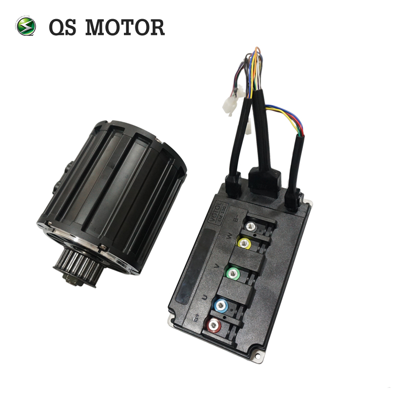 QS Motor 2000W 120 70H electric bike mid drive motor and controller 70kph for electric motorcycle