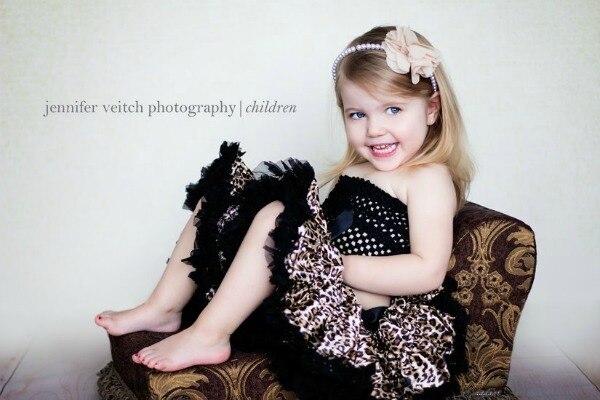 Бесплатная доставка девушки леопардовый рубашка половина - длина девочка пуховкой принцессы малыша туту производительность юбка
