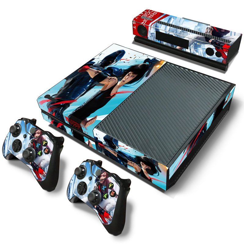 Free Drop Shipping Protective Design Hot Selling For XBOX One Console Skin Sticker Xbox ONE Controller Shell+2 Controller skins image