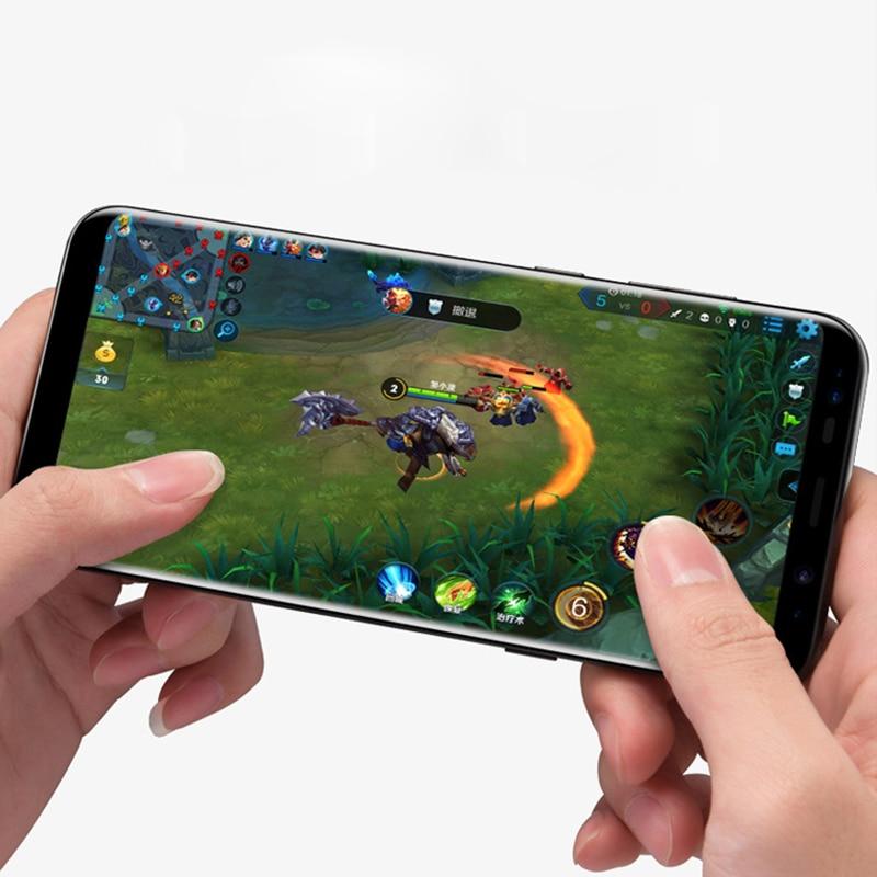 WD02 Front Zurück Gehärtetem Glas Für Apple iPhone für Sumsung X 6 s 7 8 Plus Scratch Proof Screen protector