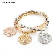 Toucheart ручной работы винтажный любовник золотое дерево жизни