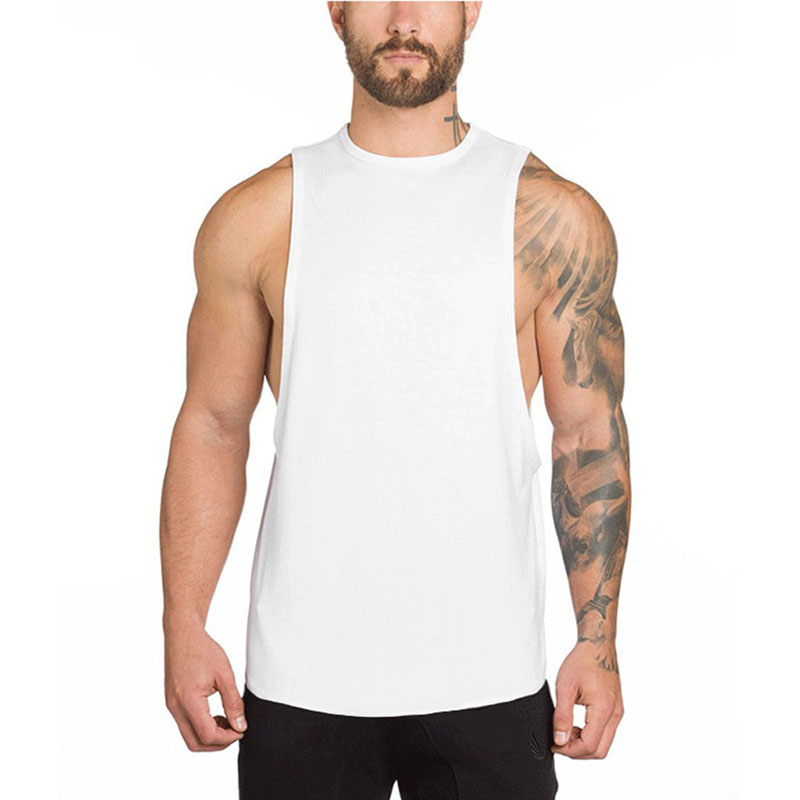 New Gyms Clothing Body Building   Tank     Top   Men Fitness Singlet Sleeveless Shirt Cotton Muscle Guys Brand Undershirt For Male Vest