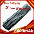 6600 mah 9 celdas de batería portátil para dell xps 14 15 17 L401X L501X L502X L501X L502X L701X L702X JWPHF J70W7 312-1123 R4CN5