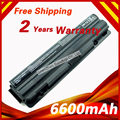 6600mAh 9 cells Laptop Battery for Dell XPS 14 15 17 L501X  L502X L701X  L702X L401X L501X L502X J70W7 JWPHF 312-1123 R4CN5