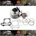 2013 Nueva 125cc a 200cc GY6 58.5 MM Grandes Bort Kit 12 unids/set, modificación necesaria, envío Libre por el epacket