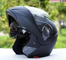 El tamaño libre XS invierno casco de la motocicleta tirón encima del casco de carreras
