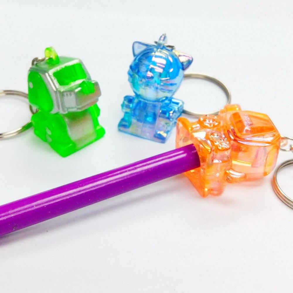 12 pc Cyber robot dog pendant pencil top Birthday party favor pinata bag filler