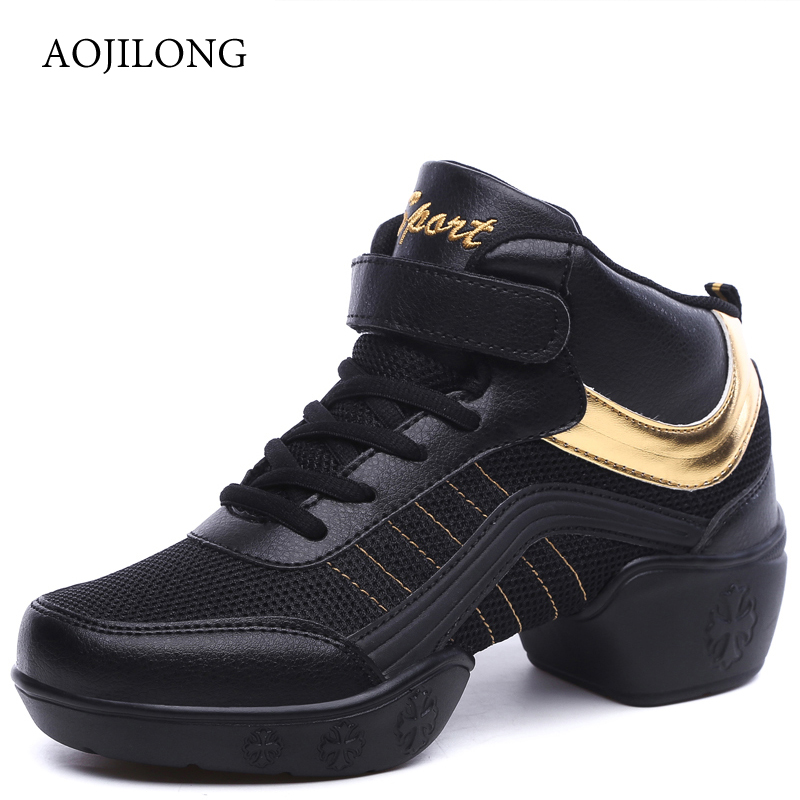 MANLI Sports Feature Soft Outsole Breath Dance Shoes LUCYLEYTE Sneakers For Woman Practice Shoes Modern Dance Jazz Sneakers