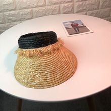 Hat Summer Ma am PULL Philippines Grass Manual Weave Top Cap. Outdoors Go  On A Journey Sunscreen Sunshade Sandy Beach Hats-in Sun Hats from Apparel  ... 451b5a9bbf87