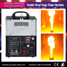 dj Stage mini double head Fire flame projector Machine for Disco night club Stage effect