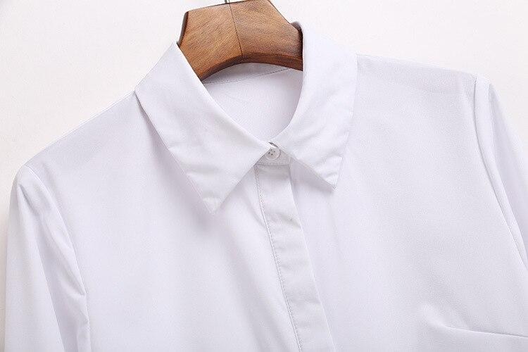 negro Blanco Beige Mujer azul Señora Mujeres Ropa Camisa xw48qvYOP