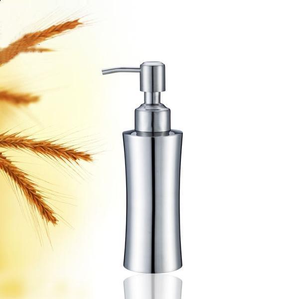 350ml Stainless steel foam soap dispenser empty lotion bottle thin waist pump bottles free shipping