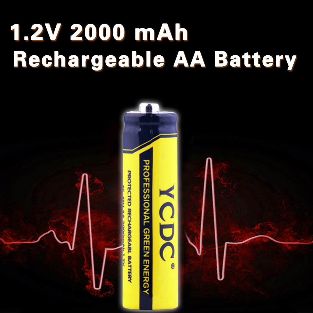 Baterias Recarregáveis ycdc 4/8/12/16/20 pcs aa nimh Also Known AS : Lr6, Hr6, Mn1500, 15a, 15ac, 4006, 815, Am3, E91, Kaa, Nd62s