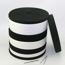 New 40meters/lot White/Balck elastic band full ranges kint for clothes sewing DIY free shipping