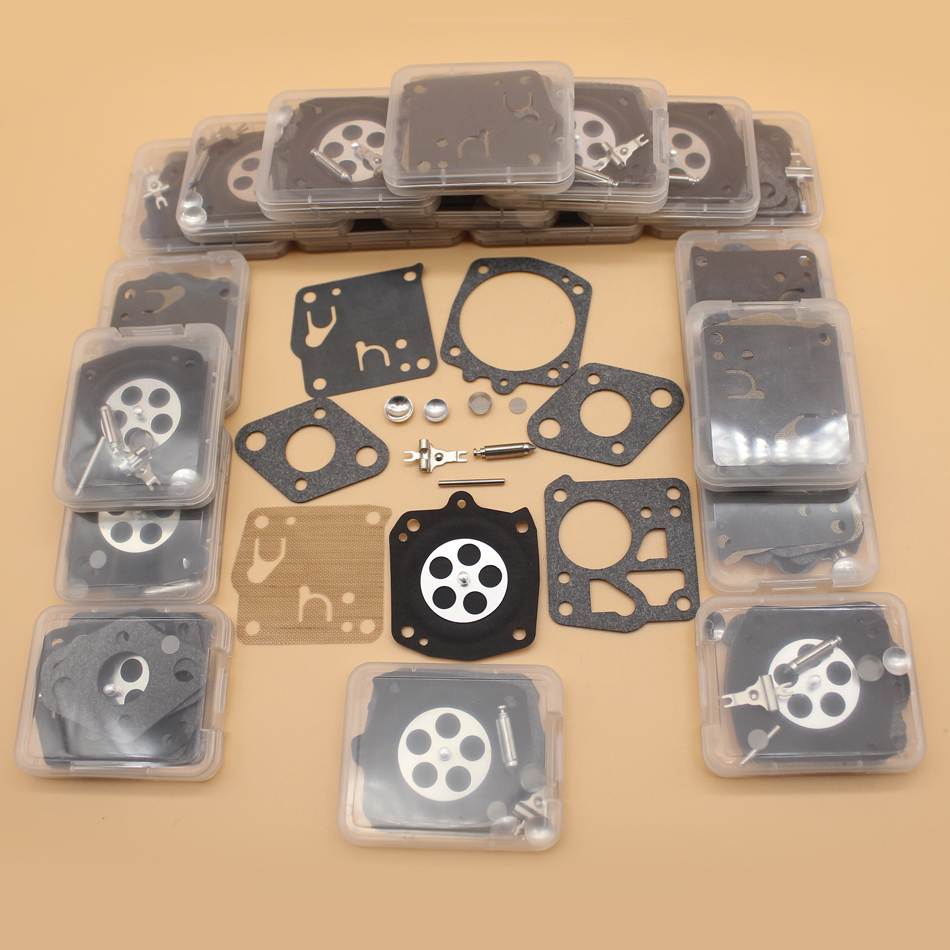 20Pcs Carburetor Kit For HUSQVARNA 61 165 265RX 266 268 181 281 272XP 2100 Jonsered 625 630 670 920 930 2094 Tillotson RK-23HS