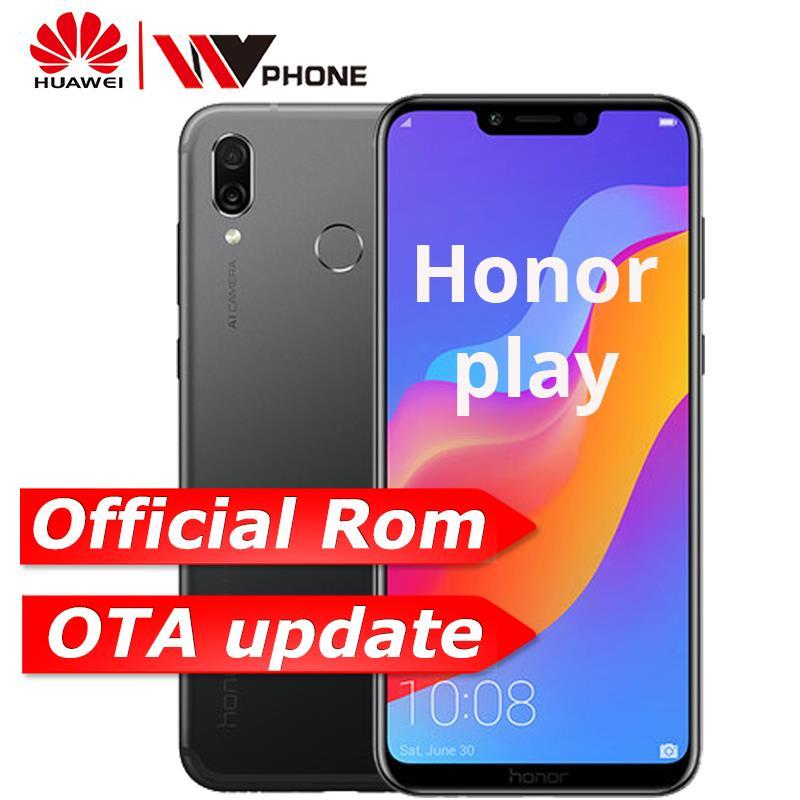 Original Huawei Honor Play 4G 64G 6 3 inch Octa Core support OTA update  game phone Fingerprint Face ID Dual Rear Camera 3750mAh-in Mobile Phones  from