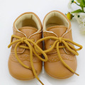 Baby Boys Girls First Walkers Toddler/Infant/Newborn Shoes Hot-selling Lace-Up Brand PU Leather New 2016 ZC2