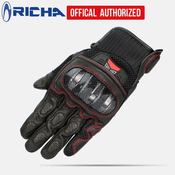 Retro Pursuit Perforated carbon fiber Motorcycle Gloves Moto racing Gloves Motorcycle Protective Gears Motocross Glove gift