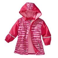 2018 autumn girl jacket children's outdoor waterproof cold wind plus velvet jacket ski suit PU raincoat kids outerwear