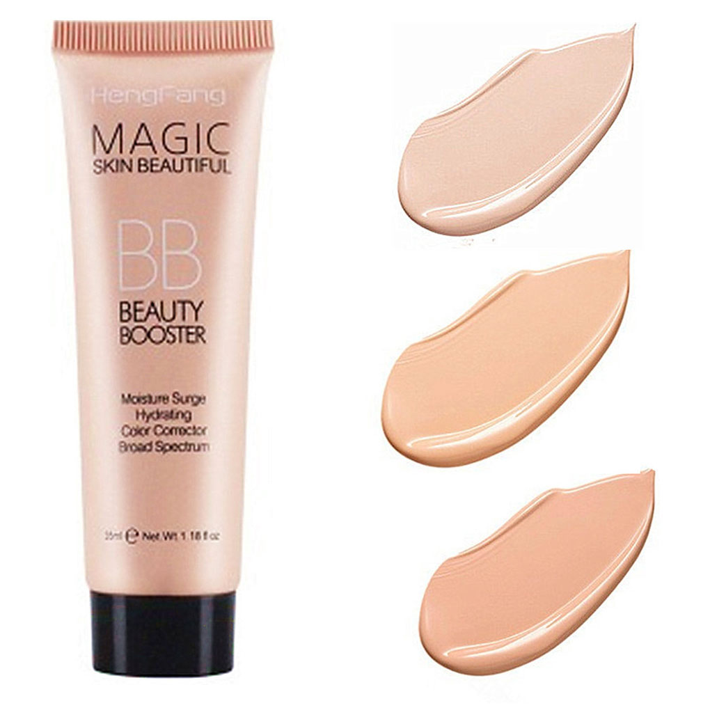 2019 New Brighten Base Foundation Full Cover Face Makeup Whitening BB Cream Facial Lasting Moisturing Oil Control Concealer