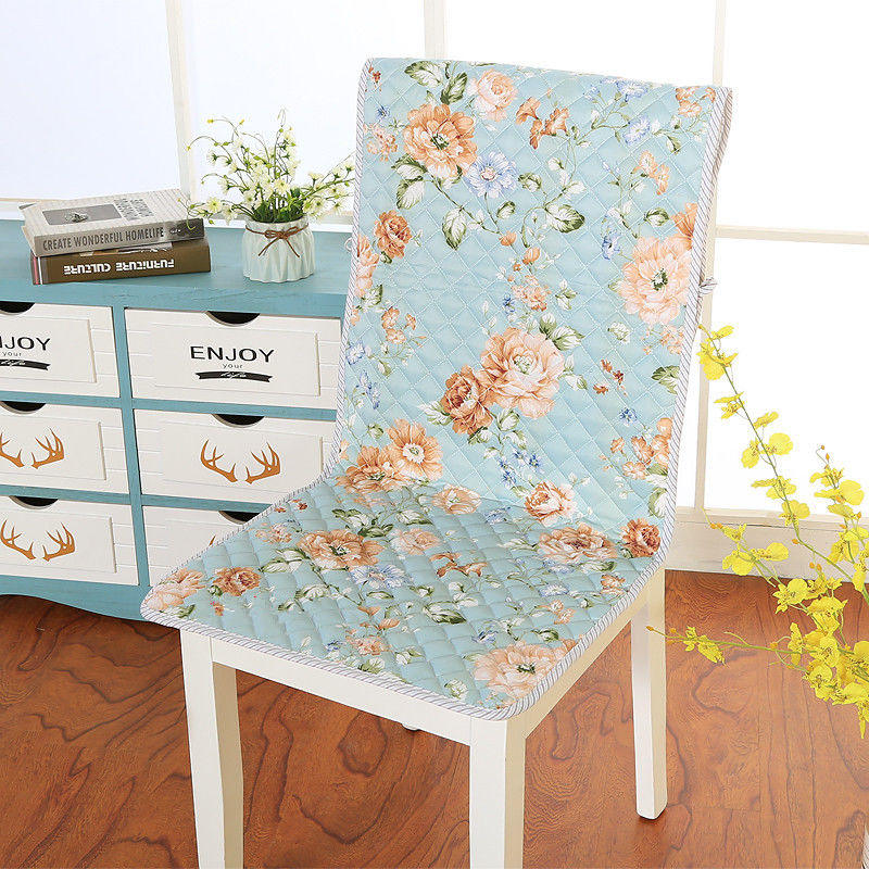 Chair Cushion Seat Cushion Cotton Mat Flower Style Pad Bind Non-Slip Mat Breathable Pad Dining Thicken Home Decoration Seat Pad