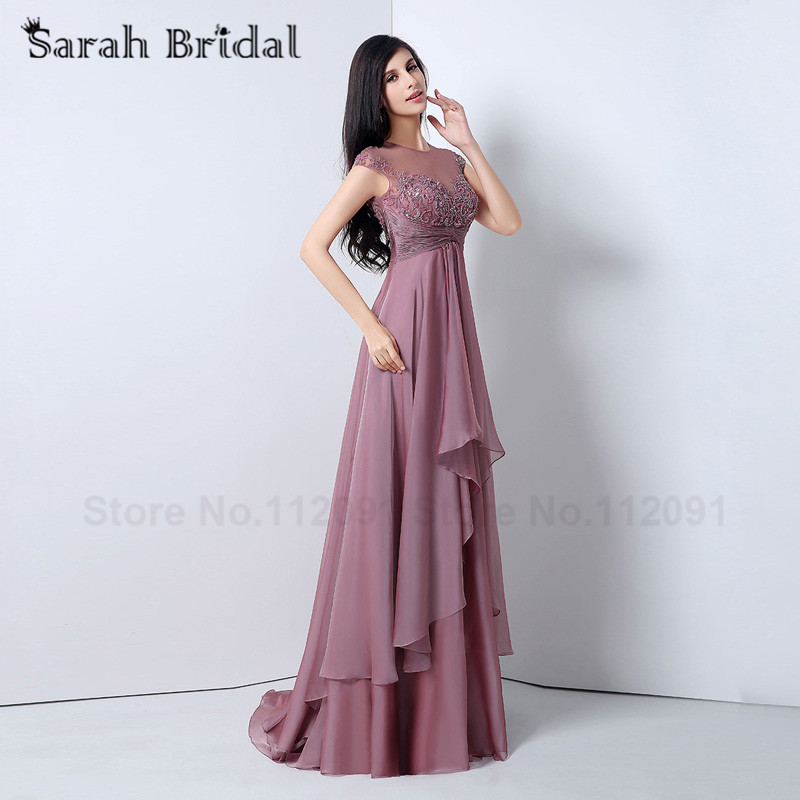 chiffon evening dress Picture - More Detailed Picture about ...