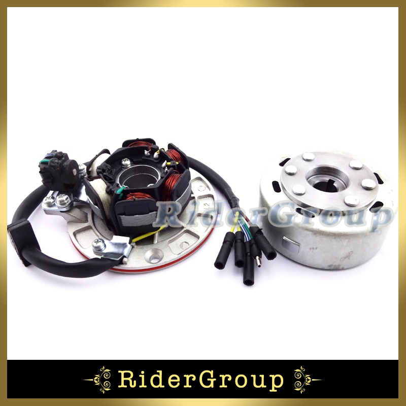 Chinese YX 140cc 150cc 160cc Engine Magneto Stator Rotor Kit With Light For Pit Dirt Bike