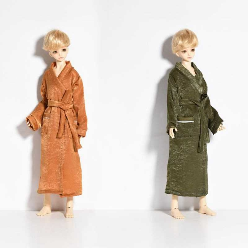 1/4 Handmade Bathrobe BJD SD For Height 40-45CM Doll Clothes Comfortable Fabric Doll Accessories Toy For Children Birthday Gifts