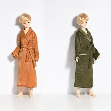 1/4 Handmade Bathrobe BJD SD For Height 40-45CM Doll Clothes Comfortable Fabric Doll Accessories Toy For Children Birthday Gifts(China)