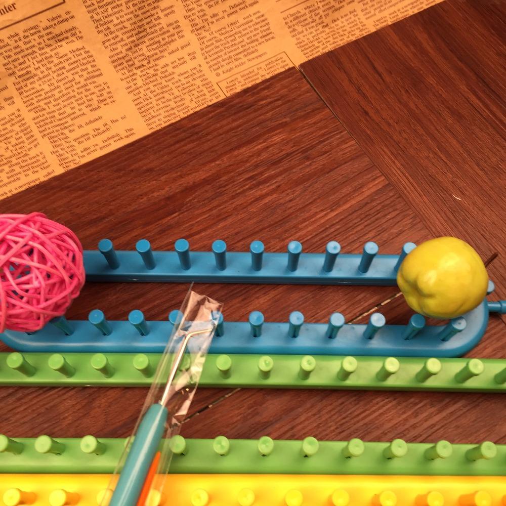 Nemokamas pristatymas 4 spalvų kvadratiniai mezgimo staklės 4 - Menai, amatai ir siuvimas - Nuotrauka 4
