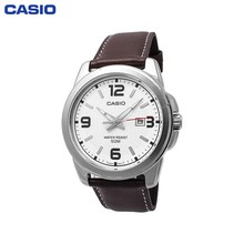 Наручные часы Casio MTP-1314PL-7A мужские кварцевые на кожаном ремешке