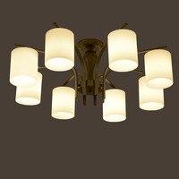 Hghomeart LED Потолочные светильники Спальня Гостиная светильники E27 заподлицо потолочный светильник Винтаж Ретро лампа Освещение 110 В/220 В