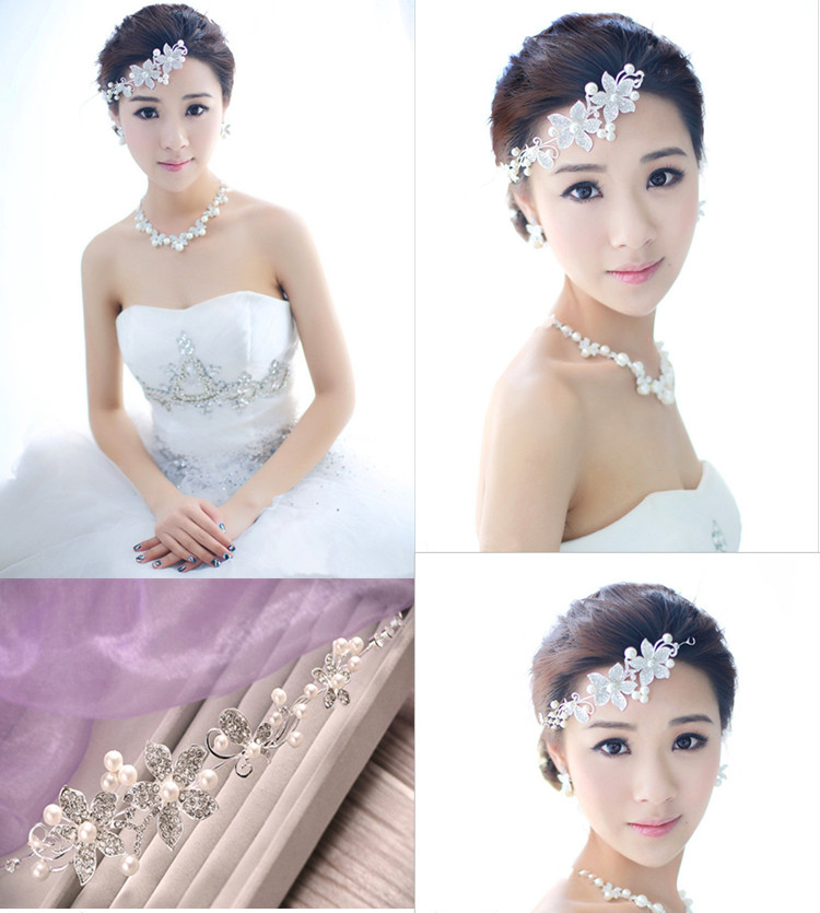 HTB1cuKnPVXXXXc3XpXXq6xXFXXXS Luxury Silver/Gold Rhinestone Pearl Jewel Flower Hair Accessory For Women - 2 Colors