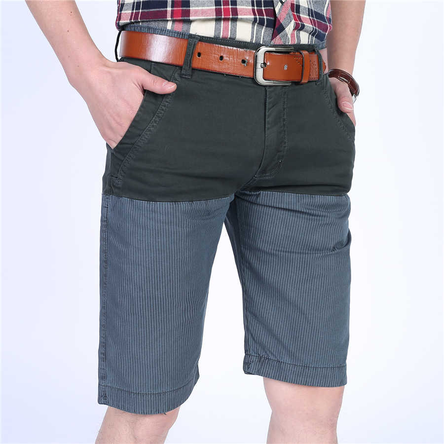 YIHUAHOO летние шорты мужские высотой до колена повседневные хлопковые шорты с несколькими карманами шорты-бермуды шорты для мужчин LW-8M15