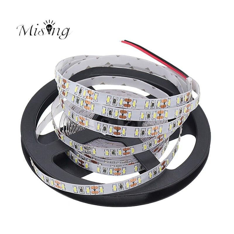 Versprechende 5 Mt 600 leds 4014 SMD Led-streifen Flexible Band Kabel DC12V 120 Watt Super Helle Nicht-wasserdicht Dekoration