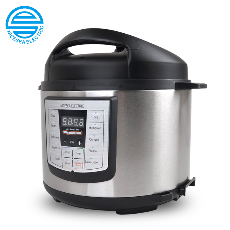 110V 5L Household Electric Rice Cooker Microcomputer Control Intelligent Rice Cooker For Household Suites For 5-6 People 220v 600w 1 2l portable multi cooker mini electric hot pot stainless steel inner electric cooker with steam lattice for students