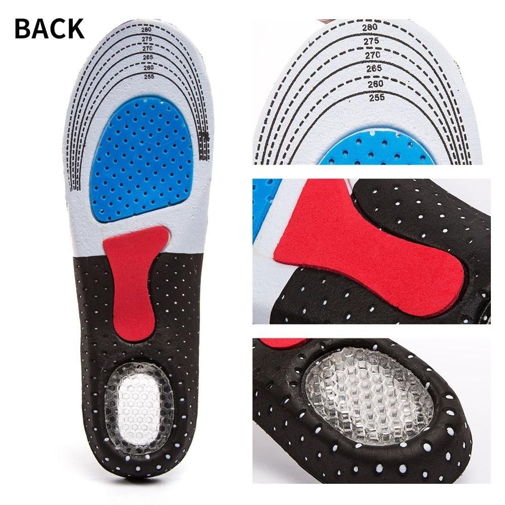 Ordentlich Turnschuhe Schuh Einlegesohle Sport Schuhe Zubehör Männer Und Frauen Der Mode Silica Gel Einlegesohlen Orthesen Sport Schuhe Einlegesohlen # Fußpflege-utensil Schönheit & Gesundheit