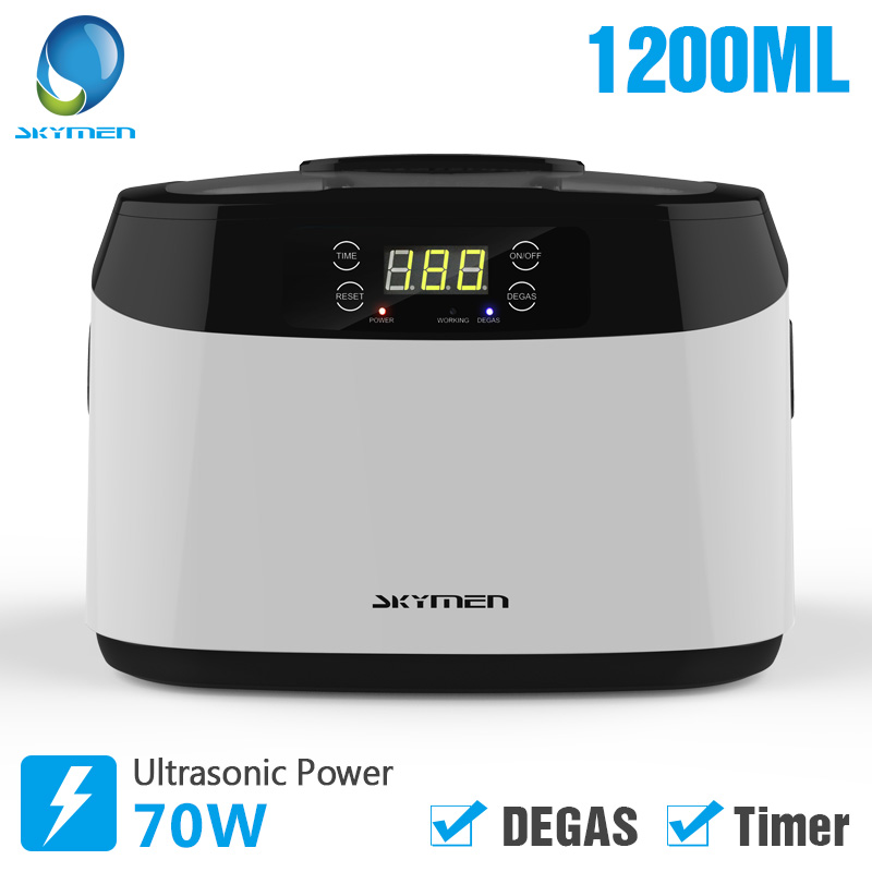 Skymen Ultrasonic Cleaner Jewelry Manicure Tools Parts Dental Watches Glasses Tank with Timer Degas Ultrasound Fruits CleaningSkymen Ultrasonic Cleaner Jewelry Manicure Tools Parts Dental Watches Glasses Tank with Timer Degas Ultrasound Fruits Cleaning