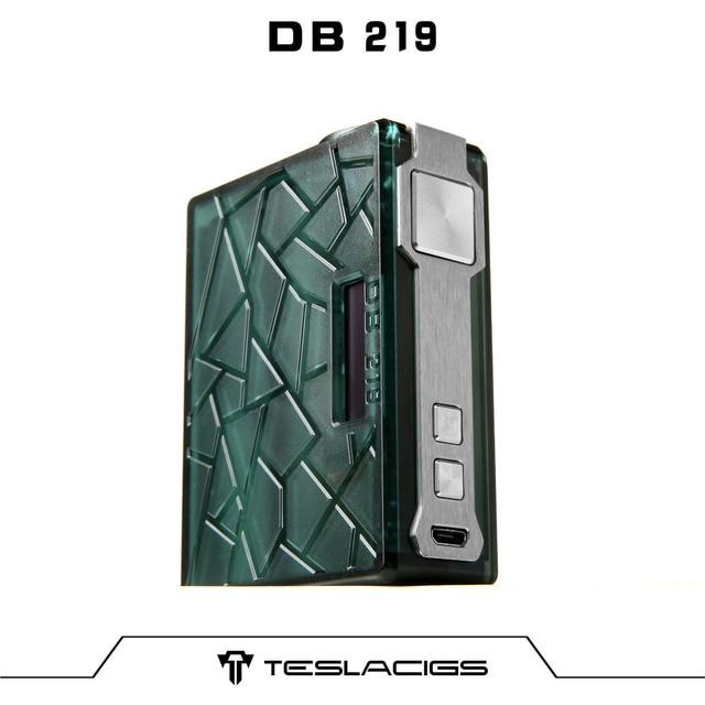 vape box mod teslacigs db 219w environmentally friendly material vape box mod teslacigs db 219w environmentally friendly material ultem pei recyclable fda approved usb