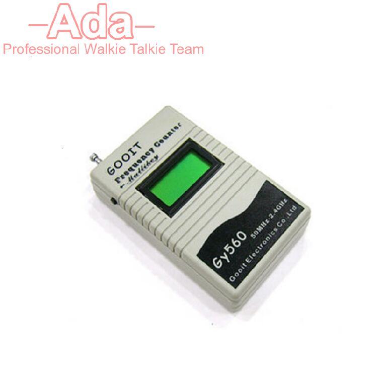 bilder für GY560 Frequenzzähler Mini-handgriffe Meter für Zwei-wege-funk-transceiver GSM 50 MHz-2,4 GHz LCD Display