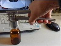 15mm Stainless Steel Manual Capping Machine Glass Vial Crimper Aluminum Plastic Flip Off Cap Crimper