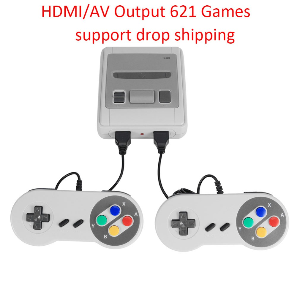 Handheld Retro Game-Player Consola Video-Game 8bit Mini Classic AV/HDMI Childhood TV