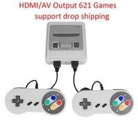 621 игры детство Ретро игра мини Классический 4 K tv AV/HDMI 8Bit игровая консоль портативный игровой плеер с 2 геймпадом Прямая поставка